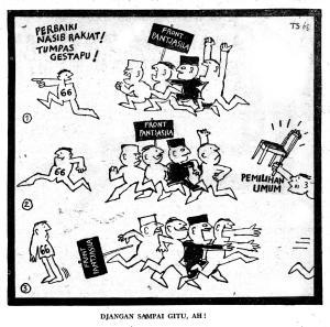 Kisah Pertarungan Politik Setelah Surat Perintah 11 Maret 1966 (1)
