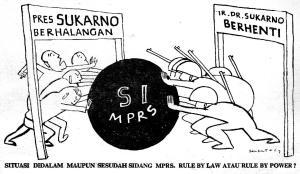 Kisah Pertarungan Politik Setelah Surat Perintah 11 Maret 1966 (4)