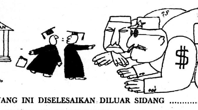 Kisah Korupsi Para Jenderal (2)