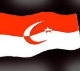 """BENDERA NEGARA ISLAM INDONESIA. """"Lalu bagaimana mungkin itu semua disebutkan sebagai suatu perjuangan suci? Kalau nama Islam dibawa-bawa sebagai pembenaran, memangnya sebagian terbesar korban itu bukan penganut Islam? Bukankah sembilan dari sepuluh rakyat Indonesia adalah penganut Islam?"""". (download okezonenews)"""