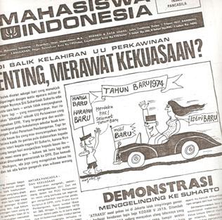 Cerita Latar Peristiwa 15 Januari 1974