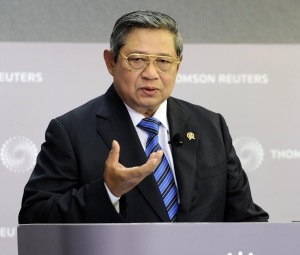 "SUSILO BAMBANG YUDHOYONO. ""He appointed as government minister a politician who blames Christians for their persecution and routinely calls for heterodox Muslim sects to be outlawed. As a result, acts of violence against religious minorities have risen dramatically during his eight years in office. Christian churches in West Java and North Sumatra have been forced to close due to discrimination in the issuing of building permits."" (photo: setkab)"