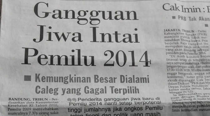 Sakit Jiwa dan Korupsi di Kancah Politik Indonesia