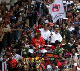 Tribunnews Kereta Kencana Jokowi