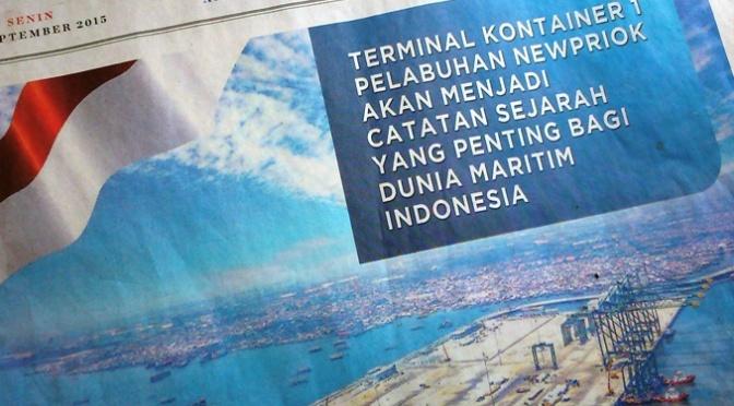 'Kandas' di Gerbang Poros Maritim Tanjung Priok