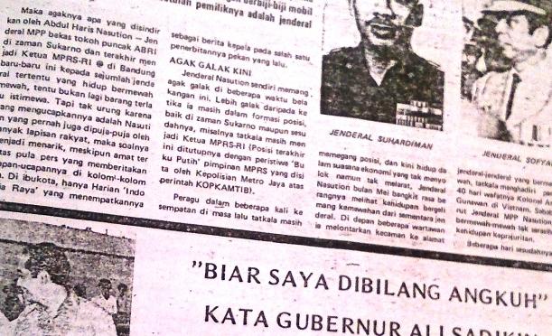 Si 'Angkuh' Dari Jakarta