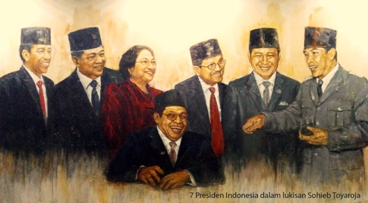 74 Tahun Tertawa dan Menangis Bersama 7 Presiden (1)